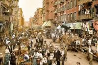 New York, Mulberry Street, 1900_1_1